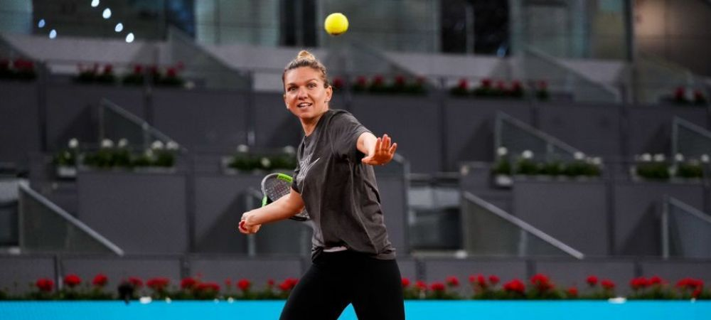 Incepe turneul de la Madrid! De la ce ora joaca Simona Halep in primul tur cu Sara Sorribes Tormo | Programul celor patru romance prezente pe tabloul principal