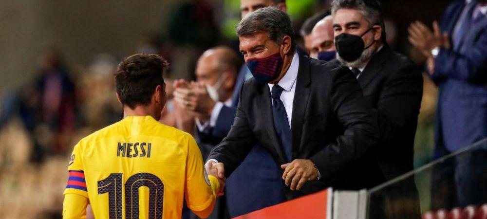 Veste fantastica pentru fanii Barcelonei! Laporta, gata sa inceapa negocierile cu Messi pentru noul contract! Care e propunerea presedintelui