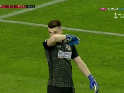 """""""E numai vina noastra, problema e la noi!"""" Vlad, dupa greseala ireala facuta la golul de 2-0 al Craiovei: """"Daca dadeam gol mai rapid, meciul se relansa"""""""