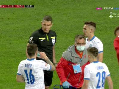 """""""N-a gresit intentionat! Trebuia penalty si rosu in minutul 6, dar nu sunt suparat!"""" Ce spune Becali despre arbitrajul lui Istvan Kovacs"""