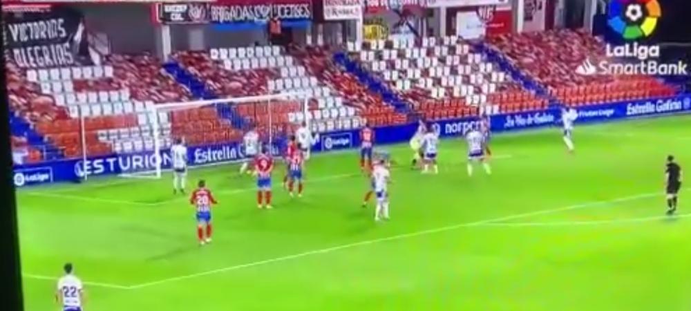 Era minutul 97 si portarul a urcat in careul advers! Gol fantastic marcat in Spania. Ruben Albes, in pragul unei crize de nervi