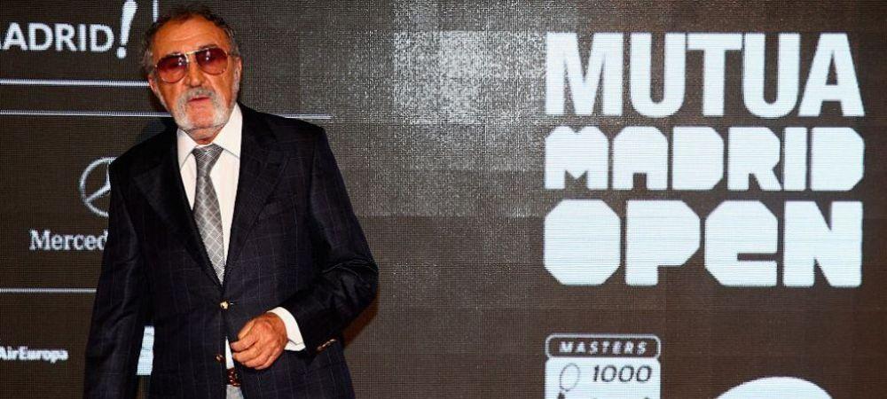 """""""A trebuit sa angajez intre 1500 si 2000 de persoane in plus!"""" Ion Tiriac dezvaluie costurile mari de organizare ale turneelor de la Madrid din acest an"""