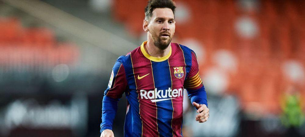 Leo Messi, pe modul 'capitan'! Nu a mai facut asta pana acum! Ce a decis inainte de 'finala' cu Atletico din campionat