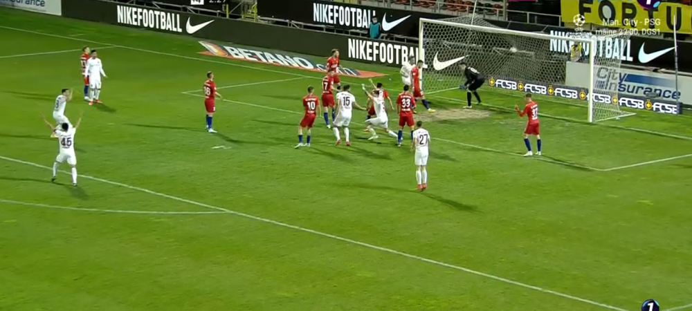 """""""Nu stiu cat fotbal s-a jucat azi!"""" Reactia lui Burca dupa ce a inscris golul care a dus-o pe CFR Cluj din nou pe primul loc! Ce a spus despre penalty"""