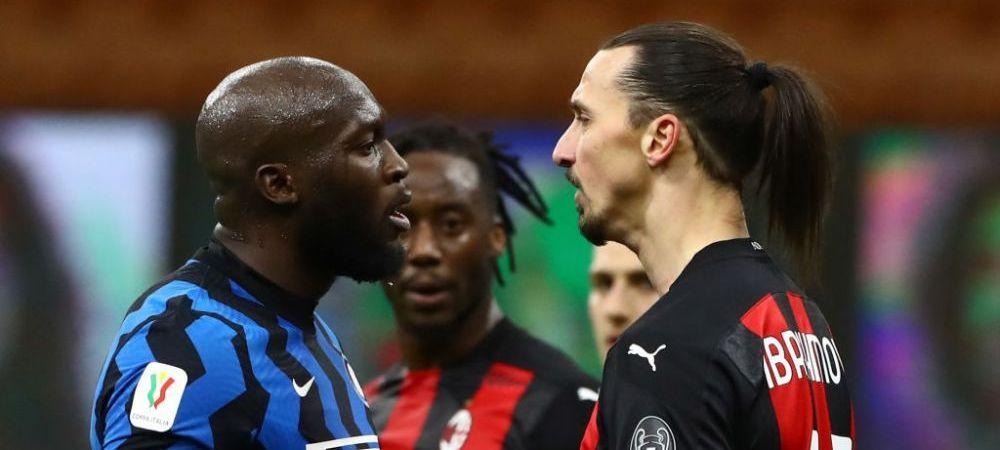 """Lukaku, nemilos cu Ibra dupa titlul castigat de Inter! """"Adevaratul Dumnezeu l-a incoronat pe rege!"""""""