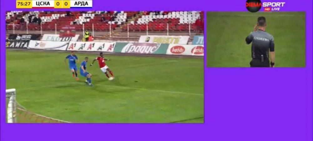 Keseru si Grigore au VAR in Bulgaria!Primele imagini dupa ce a fost instalat arbitrajul video in prima liga