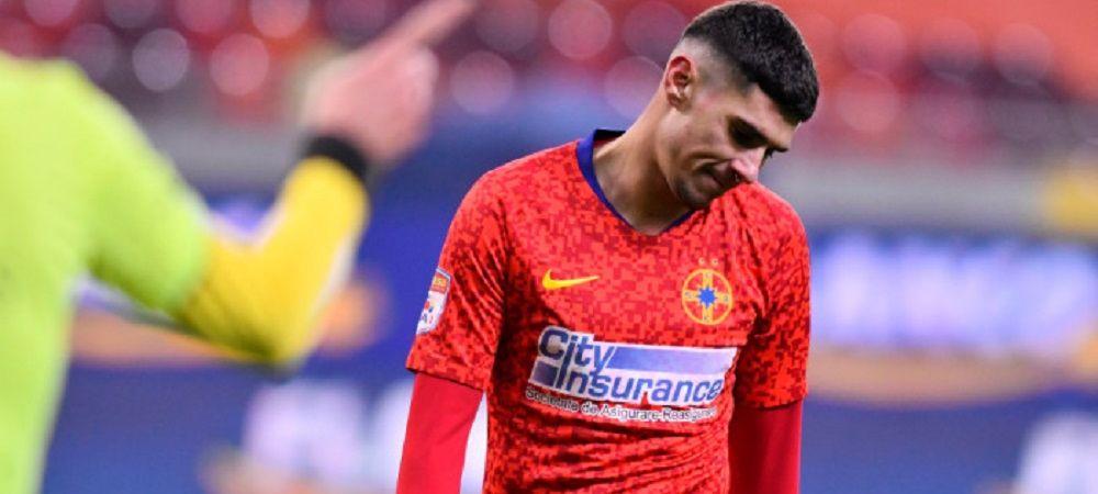 Florinel Coman ar fi vrut sa joace in derby-ul cu CFR Cluj, desi este accidentat! Cum a fost oprit fotbalistul de la FCSB