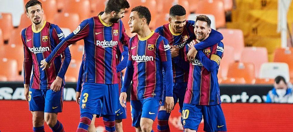 Probleme mari pentru jucatorii Barcelonei! Liga spaniola ii ancheteaza pe fotbalisti dupa petrecerea organizata de Messi
