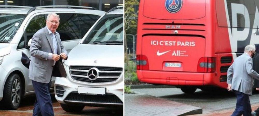 Marele Alex Ferguson a fost la hotelul lui PSG inainte de semifinala cu City! Care a fost scopul vizitei