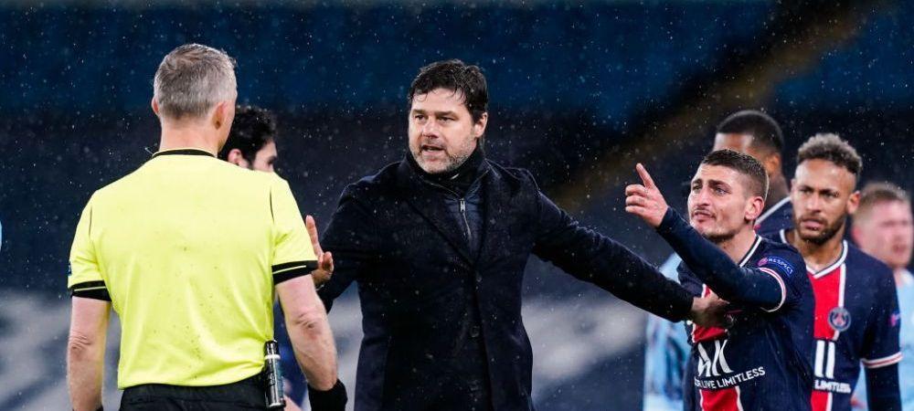 """Reactia lui Pochettino dupa eliminarea din semifinalele Champions League: """"Am dominat-o pe City!"""" Ce a spus despre absenta lui Mbappe"""