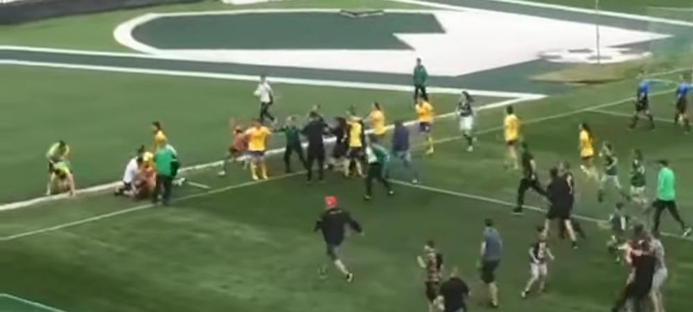 Bataie generala la un meci de fotbal feminin! Imagini uluitoare din Cupa Bulgariei! Ce s-a intamplat