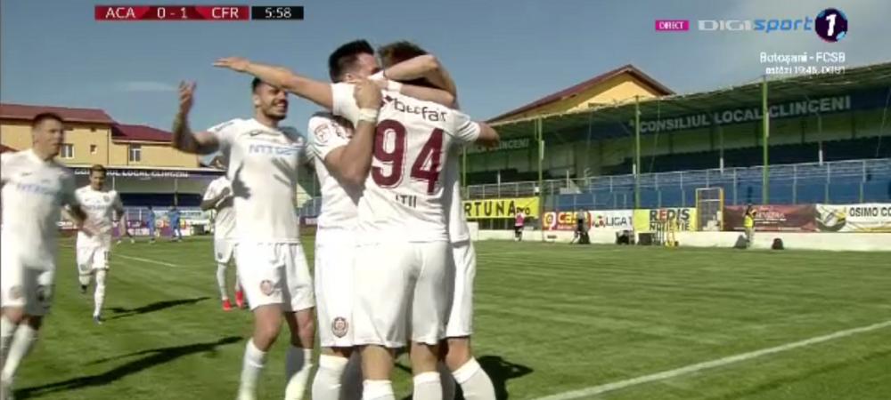 Clinceni 0-1 CFR Cluj   Zero fotbal, 3 puncte pentru CFR! Sprint spre titlu: are 5 puncte in fata FCSB. Cum arata clasamentul