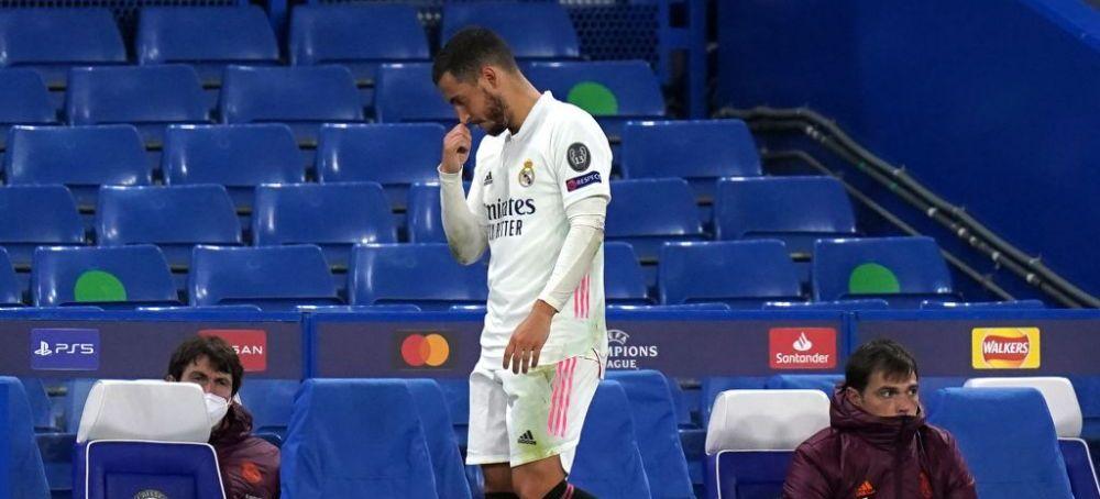Eden Hazard raspunde criticilor dupa ipostaza in care a fost surprins la finalul meciului cu Chelsea! Mesajul trasmis de starul belgian