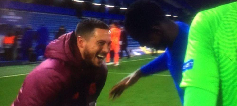 Prima reactie a lui Hazard dupa ce a fost facut praf pentru hohotele de ras de la finalul meciului cu Chelsea. Ce a spus dupa ce Real a fost data afara din Liga