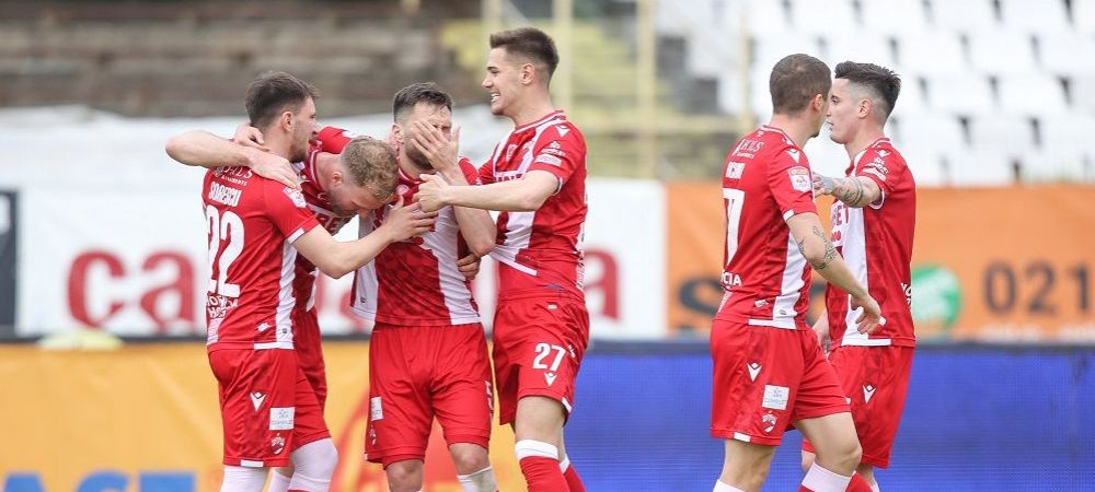 """""""Da dovada de inspiratie si are rezultate!"""" Care este cheia succesului lui Dinamo in ultimele 3 etape din playout"""
