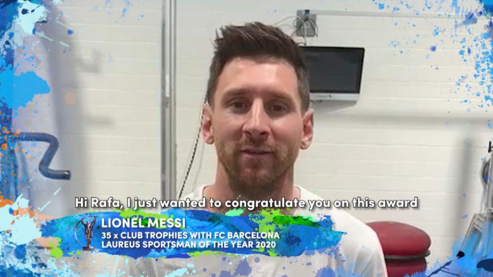 Stafeta Messi-Nadal: