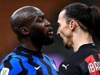 """""""El castiga doar pentru el, eu castig pentru Inter!"""" Ce spune Lukaku despre conflictul cu Zlatan: """"Cuvintele lui m-au deranjat"""""""