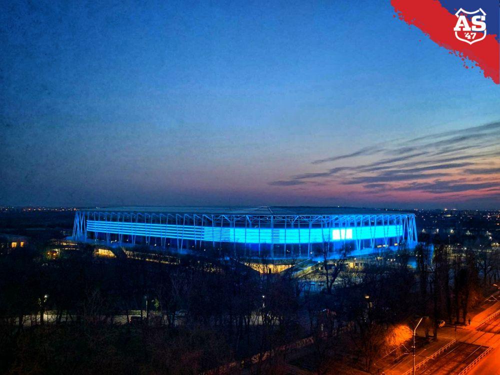 BREAKING NEWS   EXCLUSIV: Se deschide bijuteria de 100 de milioane din Ghencea! Lovitura majora pentru stelisti: care e primul meci care se joaca pe noul stadion