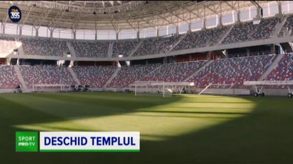 BREAKING NEWS | EXCLUSIV: Se deschide bijuteria de 100 de milioane din Ghencea! Lovitura majora pentru stelisti: care e primul meci care se joaca pe noul stadion