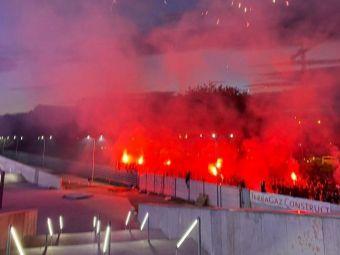 S-a aprins cartierul, a ars Ghencea! Peste 1000 de oameni la stadionul Steaua pentru sarbatoarea istorica de 7 mai