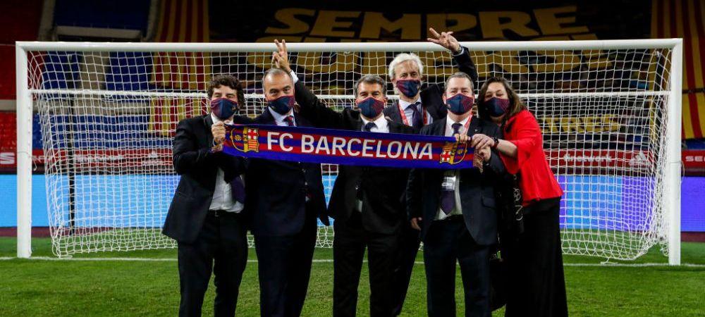 """Cum raspunde Barcelona amenintarilor facute de UEFA: """"E inacceptabil!"""" Ce sanctiuni poate suferi clubul catalan din cauza Super Ligii"""