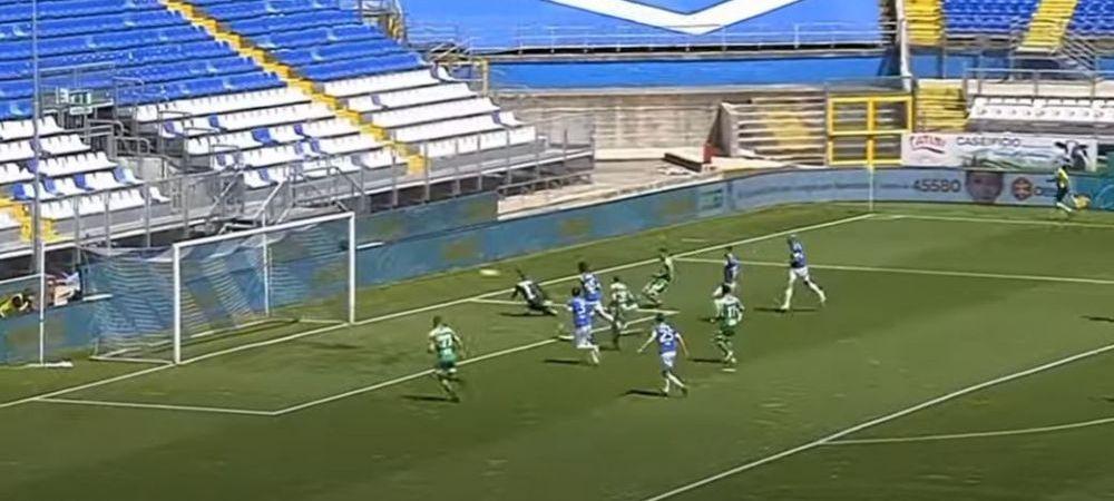 VIDEO | Gol pentru Marius Marin in Serie B! Echipa capitanului nationalei U21, invinsa in penultima etapa din acest sezon