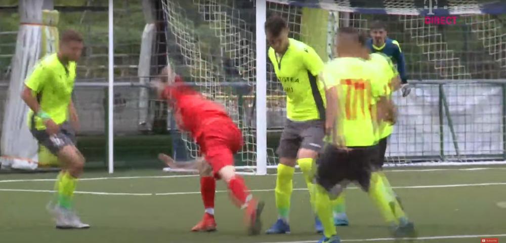 Penalty scandalos primit de Steaua! Ce a putut sa faca arbitrul la o faza la care nu a fost absolut nimic