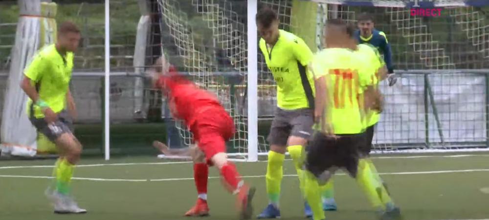Penalty scandalos primit de Steaua! Ce a putut sa faca arbitrul la o faza la care nu a fost absolut nimic! Gafa de arbitraj si pe final