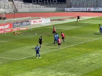 Faza mondiala in liga a 2-a din Romania! Cel mai prost batut penalty din istorie! Cum a putut sa execute jucatorul lui U Cluj