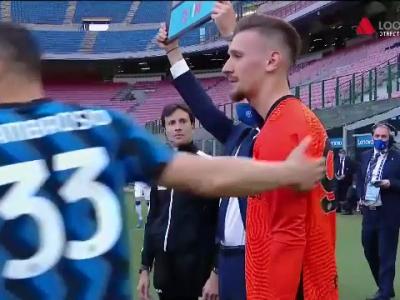 Ionut Radu, prima aparitie la Inter in acest sezon! Emotii maxime: toti colegii l-au incurajat. A jucat dupa 1820 de zile in tricoul Interului