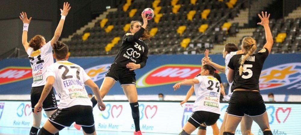 Minaur Baia Mare a ratat calificarea in finala EHF European League
