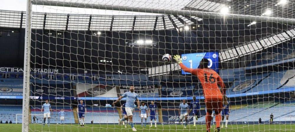 Sunt imaginile momentului! L-a vazut pe Ribeiro de la U Cluj si a zis s-o dea la fel! :)) Aguero s-a facut de ras in City - Chelsea! Mendy i-a scos-o cu o mana! Cum a putut sa bata penalty-ul
