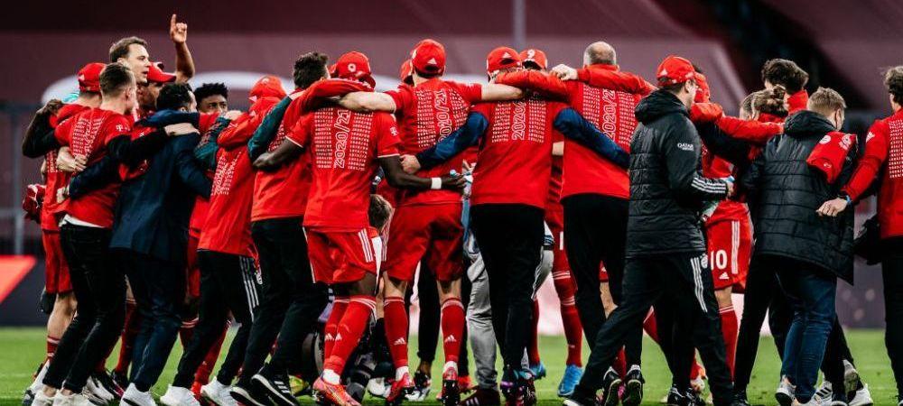 Campioana a 9-a oara la rand! Bayern a spulberat-o pe Gladbach: 6-0! Lewandowski nu poate fi oprit: a dat 3 goluri si e la un pas de recordul lui Gerd Muller