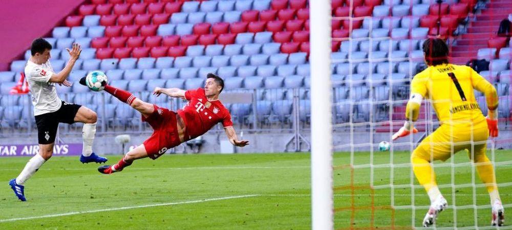 Fa-bu-los! Lewandowski, gol senzational pentru Bayern! E arta sau matematica? Doar fotbal sigur nu e! Cum a marcat
