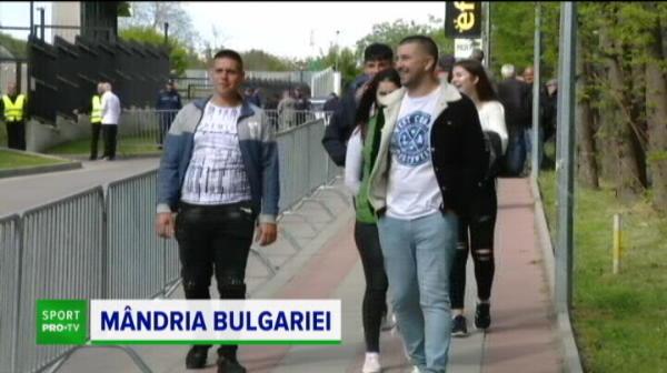 "Imagini geniale la Razgrad! Leul doarme fix langa stadion! Suporterii, reactii geniale: ""Keseru e bun. Moti? Pensionar!"""