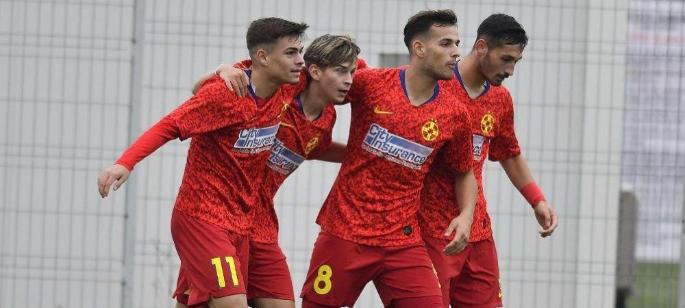FCSB 2, gata de un nou razboi cu Steaua in lupta pentru promovare! AICI tot ce s-a intamplat in CS Afumati 0-1 FCSB 2