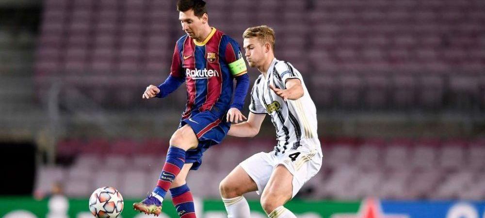Barcelona isi doreste cu orice pret un jucator din Serie A! Reactia lui Juventus dupa oferta facuta de catalani pentru De Ligt
