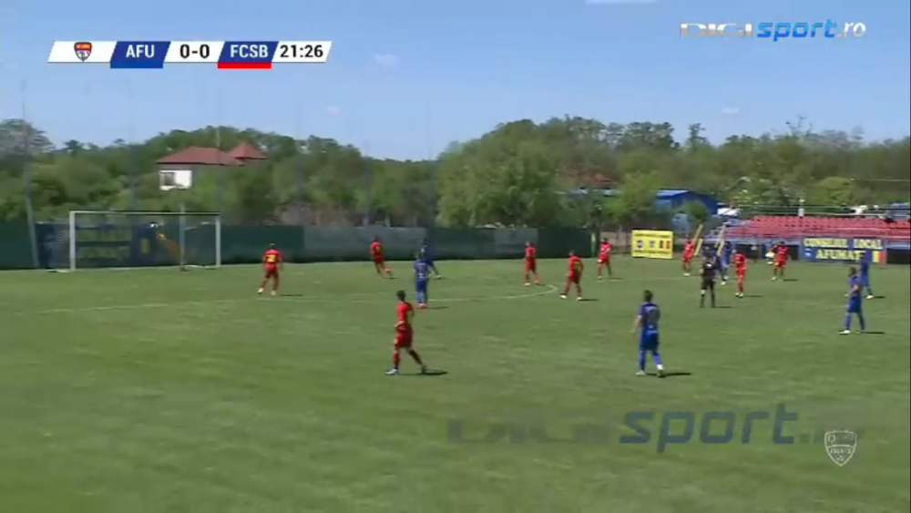 Tarnovanu, prestatie excelenta in meciul cu CS Afumati! Portarul lui FCSB merita sa prinda sanse la prima echipa