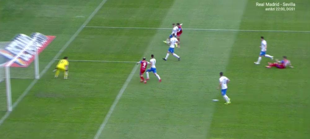 Inca o greseala uriasa de arbitraj in Liga 1! Al Mawas, gol in fata Craiovei dintr-un offside clar. Cum a marcat