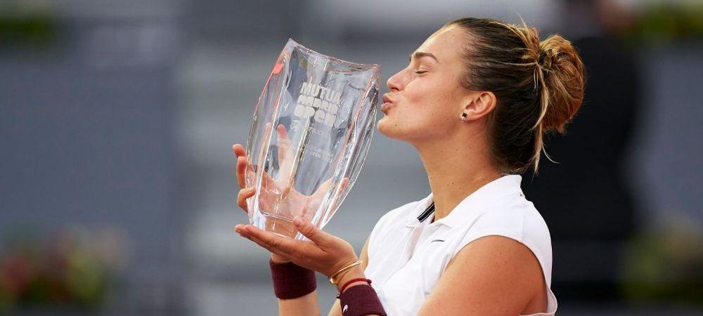 """Mai greu pe zgura in 2021 pentru Simona Halep. Aryna Sabalenka este noua jucatoare care domina WTA-ul: """"Acum nu imi mai e frica, inainte ma gandeam ca zgura nu e de mine."""""""