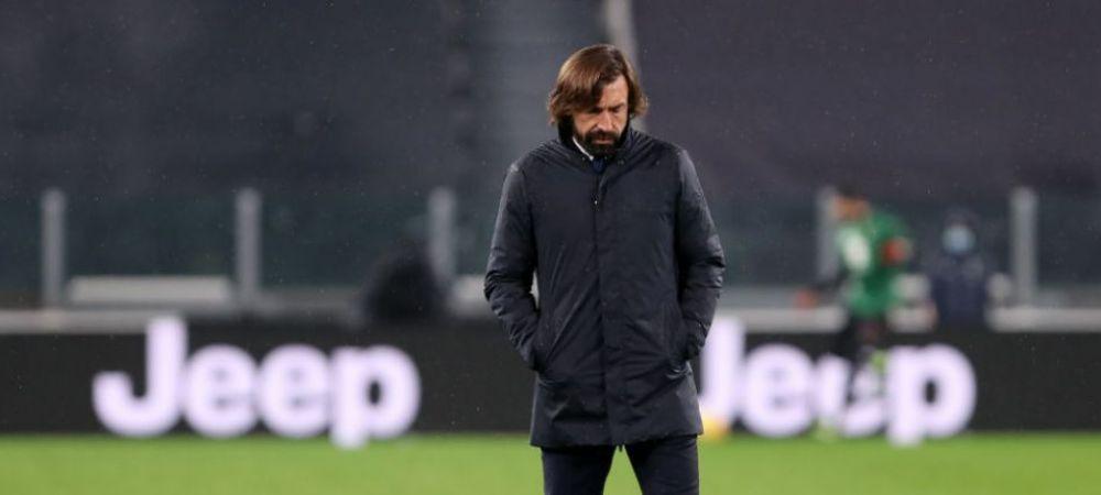 Pirlo, out de la Juventus?!Antrenorul a facut anuntul dupa infrangerea zdrobitoare cu AC Milan