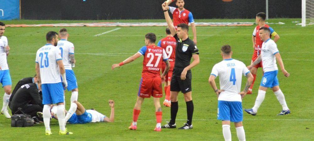 """""""Oamenii ne injura de vii si de morti!"""" Replica lui Marius Croitoru dupa incidentul din meciul cu Craiova: """"Nu am aratat niciun semn obscen!"""""""