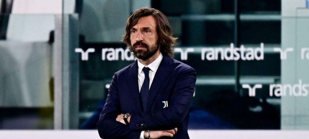 Juventus i-a decis viitorul lui Pirlo! Ce se intampla cu antrenorul care e considerat de fani ca fiind cel mai slab din istoria echipei