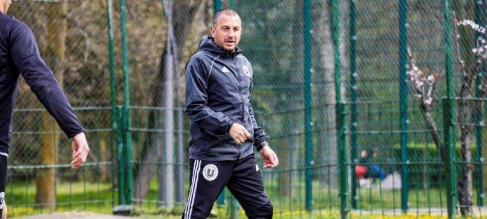 Costel Enache a plecat de la U Cluj! Anuntul oficial al clubului