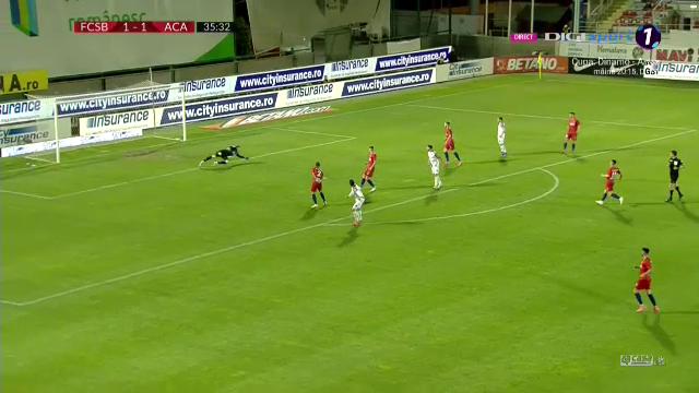 Pur si simplu, magic! Rusescu, gol superb in fata fostei echipe! Cum a putut sa inscrie atacantul lui Clinceni si cum a reactionat la gol