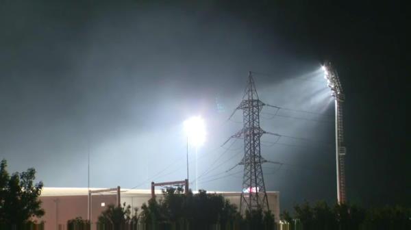 Incendiu langa stadionul unde s-a jucat FCSB - Clinceni! Imagini de ultima ora. Pompierii, chemati de urgenta