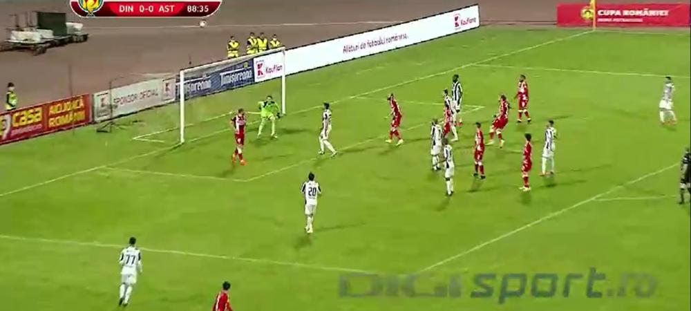 Erou din intamplare! Andrei Radu a reusit un gol spectaculos in Cupa Romaniei! Cum a marcat fundasul lui Dinamo