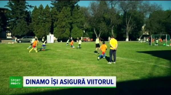 Dinamo investeste in viitor! Danciulescu a mai inaugurat o academie in Romania! Ce le-a transmis copiilor