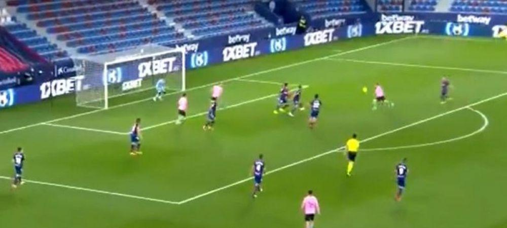 Messi, magistral din nou! Gol FABULOS reusit de starul argentinian in meciul cu Levante
