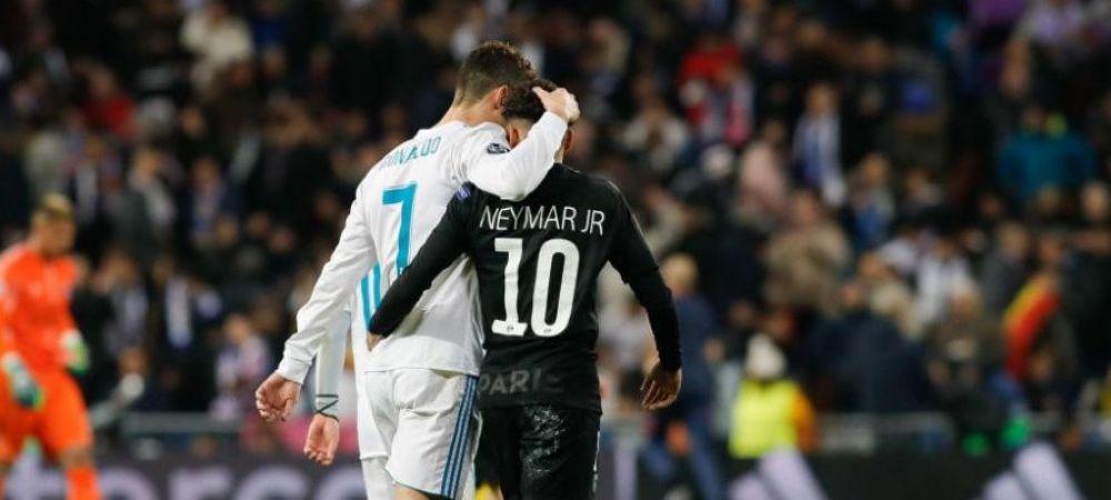 """Neymar il cheama pe Ronaldo la PSG: """"Vreau sa joc cu el!"""" Ce alte dorinte mai are starul brazilian"""